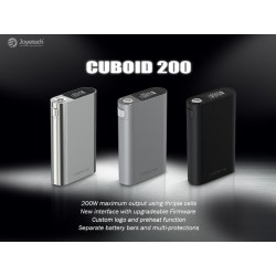 Joyetech Box Cuboid 200W TC triple 18650 - Solo Box