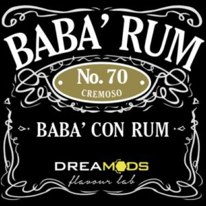 Dreamods - Aroma Concentrato Babà Rum N°70 10ml