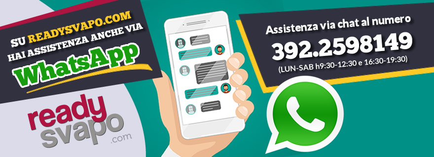 assistenza whatsapp readysvapo