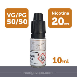 Readiy booster base neutra 20 nicotina 50-50 da 10ml – TPD
